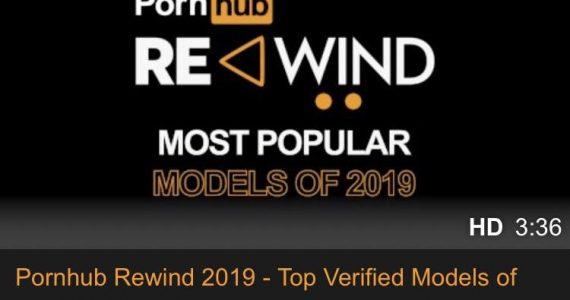 pornhub rewind 2019