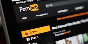 accueil de Pornhub